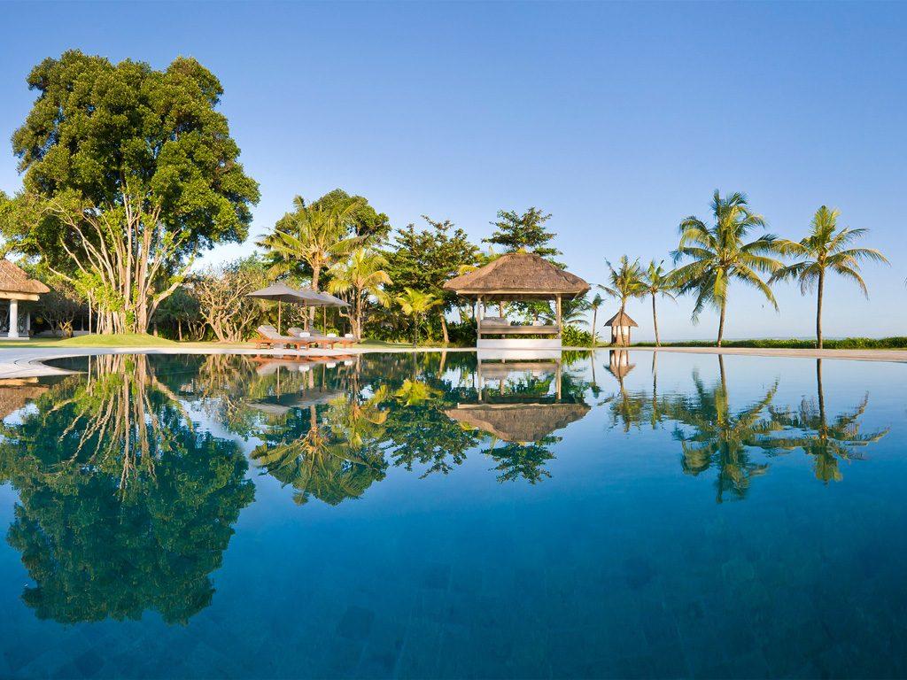 14. Atas Ombak Pool reflections
