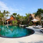 2. Villa Sati Pool and sunloungers