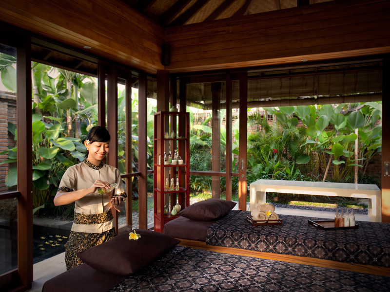 9. Villa Sati Spa interior