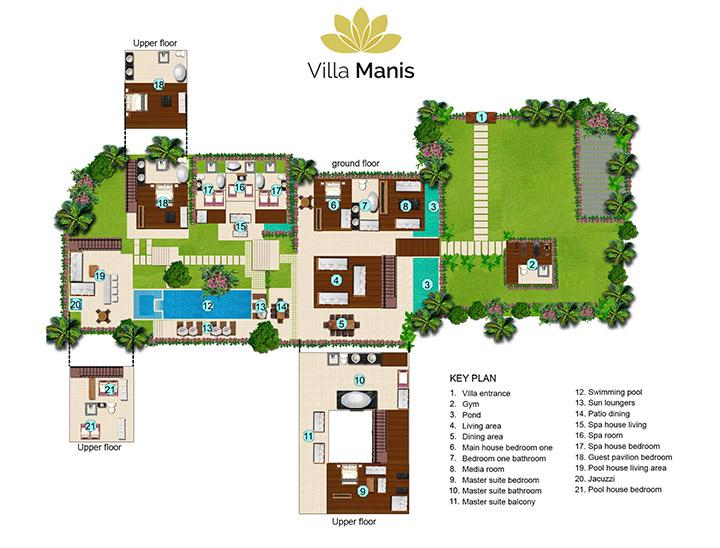 Villa Manis 8 Bedrooms Canggu
