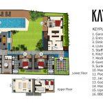 Villa Kayajiwa Floor plan