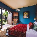 Villa Kayajiwa Guest bedroom two garden outlook
