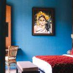 Villa Kayajiwa Guest bedroom two wall painting