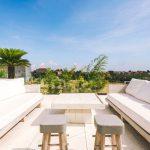 Villa Kayajiwa Rooftop lounge