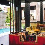 Villa Kayajiwa Semi outdoor living area