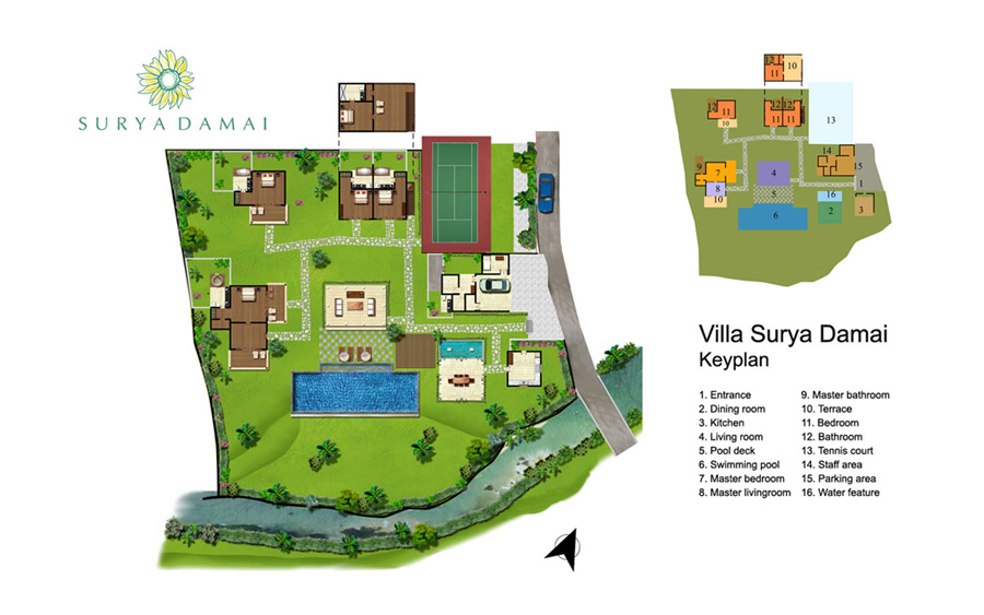 Villa Surya Damai Umalas Bali (3)