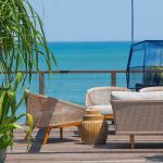 Noku Beach House Lounge with beautiful beach view