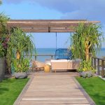 Noku Beach House Pathway to outdoor living area