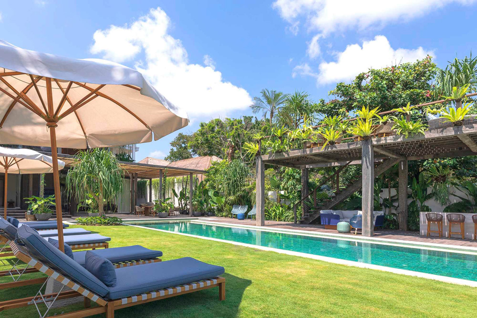 Noku Beach House Poolside