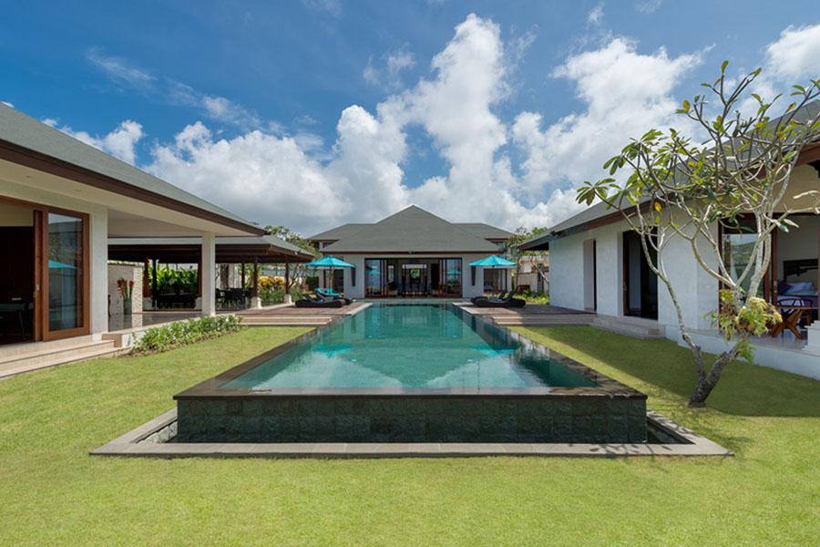 Pandawa Clifftop Marie Villa Layout