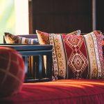 Villa Kayajiwa Living area sofa cushion