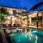 15. Villa Vida at Canggu Beachside Villas Night atmosphere