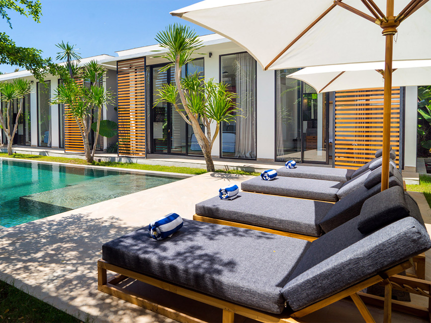 3. Villa Vida at Canggu Beachside Villas Great holiday tan