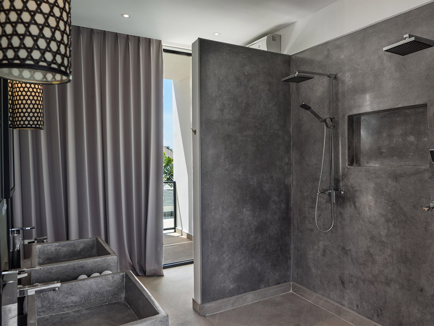 6. Villa Vida at Canggu Beachside Villas Bathroom excellence