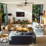 8. Villa Vida at Canggu Beachside Villas Elegant living area design