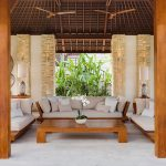 The Beji Outdoor living area