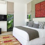 Villa Vida at Canggu Beachside Villas Elegant guest bedroom design