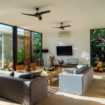 Villa Vida at Canggu Beachside Villas Intimate living space