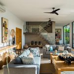 Villa Vida at Canggu Beachside Villas Living area details