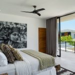 Villa Vida at Canggu Beachside Villas Master bedroom layout