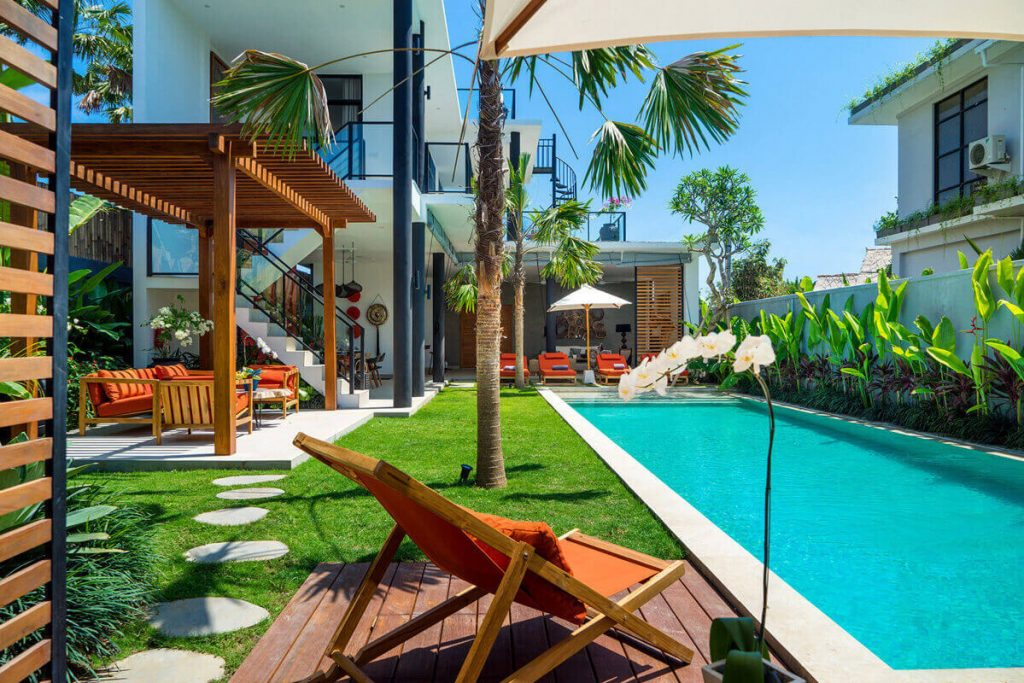Villa Boa at Canggu Beachside Villas Blissful poolside