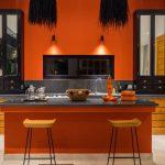 Villa Boa at Canggu Beachside Villas Contemporary kitchen design