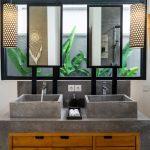 Villa Boa at Canggu Beachside Villas Double sink vanity
