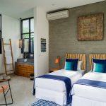Villa Boa at Canggu Beachside Villas Guest bedroom design