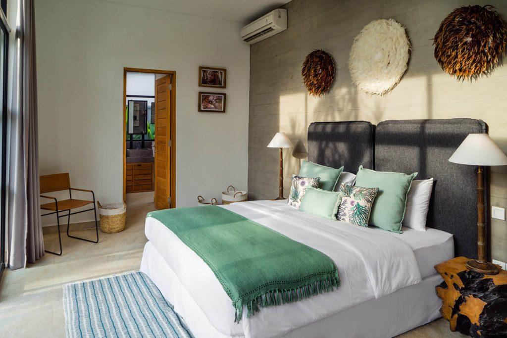 Villa Boa at Canggu Beachside Villas Guest bedroom preview