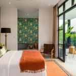 Villa Boa at Canggu Beachside Villas Master bedroom design