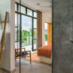 Villa Boa at Canggu Beachside Villas Master bedroom sneak view