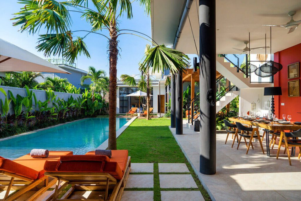 Villa Boa at Canggu Beachside Villas Picturesque setting