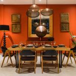 Villa Boa at Canggu Beachside Villas Stylish dining area design