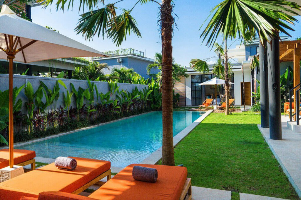 Villa Boa at Canggu Beachside Villas Truly tropical sanctuary