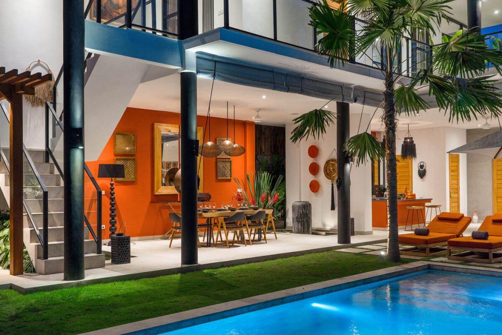 Villa Boa at Canggu Beachside Villas Villa setting