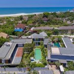 Villa Gu at Canggu Beachside Villas Aerial shot