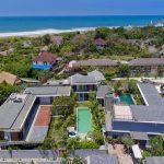Villa Gu at Canggu Beachside Villas Aerial shot