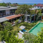 Villa Gu at Canggu Beachside Villas Aerial view