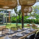 Villa Gu at Canggu Beachside Villas Dining area