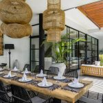Villa Gu at Canggu Beachside Villas Dining area details