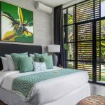 Villa Gu at Canggu Beachside Villas Guest bedroom outlook