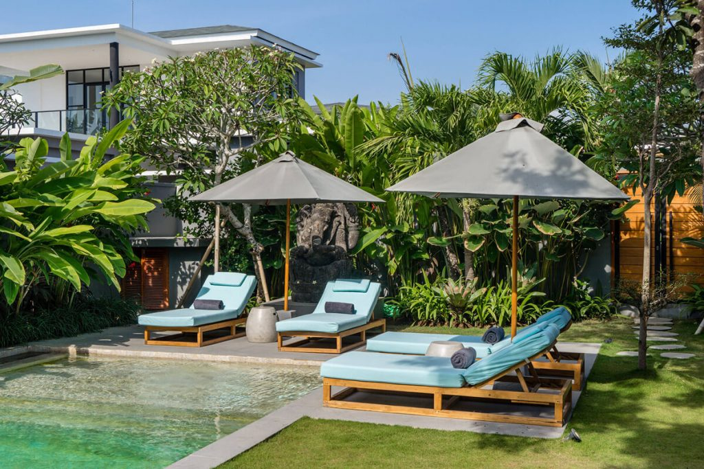 Villa Gu at Canggu Beachside Villas Laze away the day