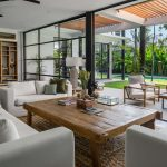 Villa Gu at Canggu Beachside Villas Living area outlook