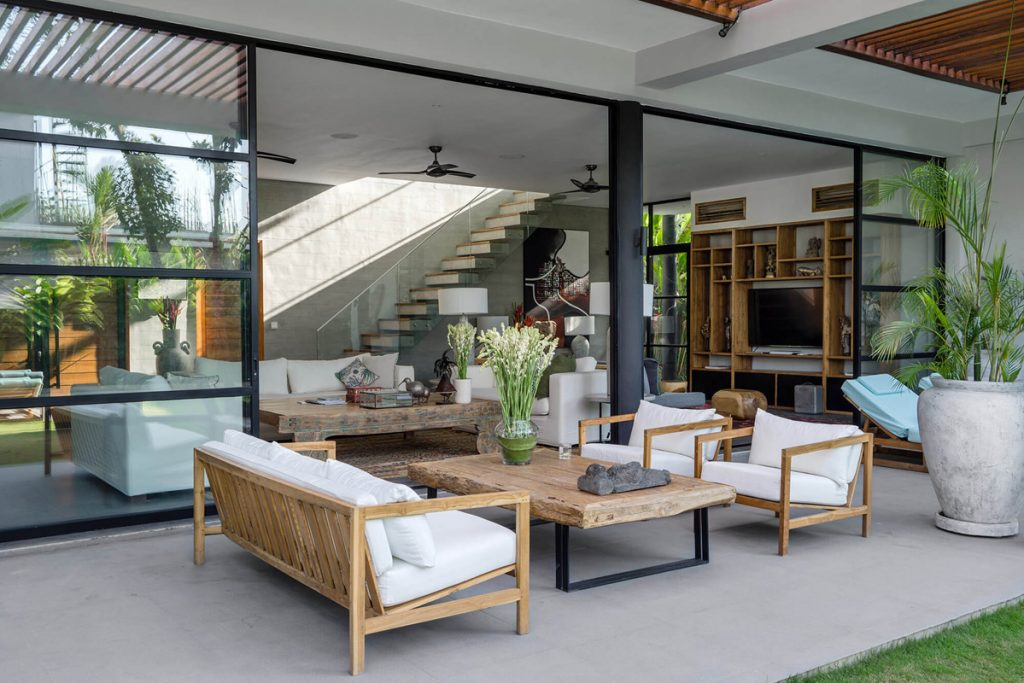 Villa Gu at Canggu Beachside Villas Stunning interior design