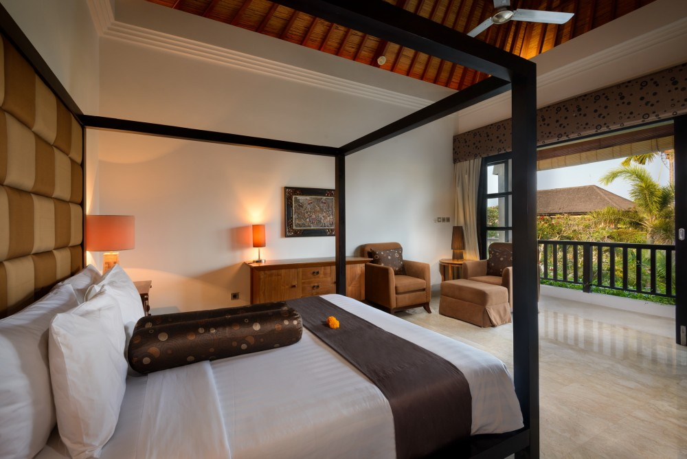 Villa Amman Bali-Guest Bedroom View