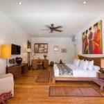 Villa Kavaya Elegant design of master bedroom