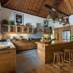 Villa Kavaya Natural kitchen design