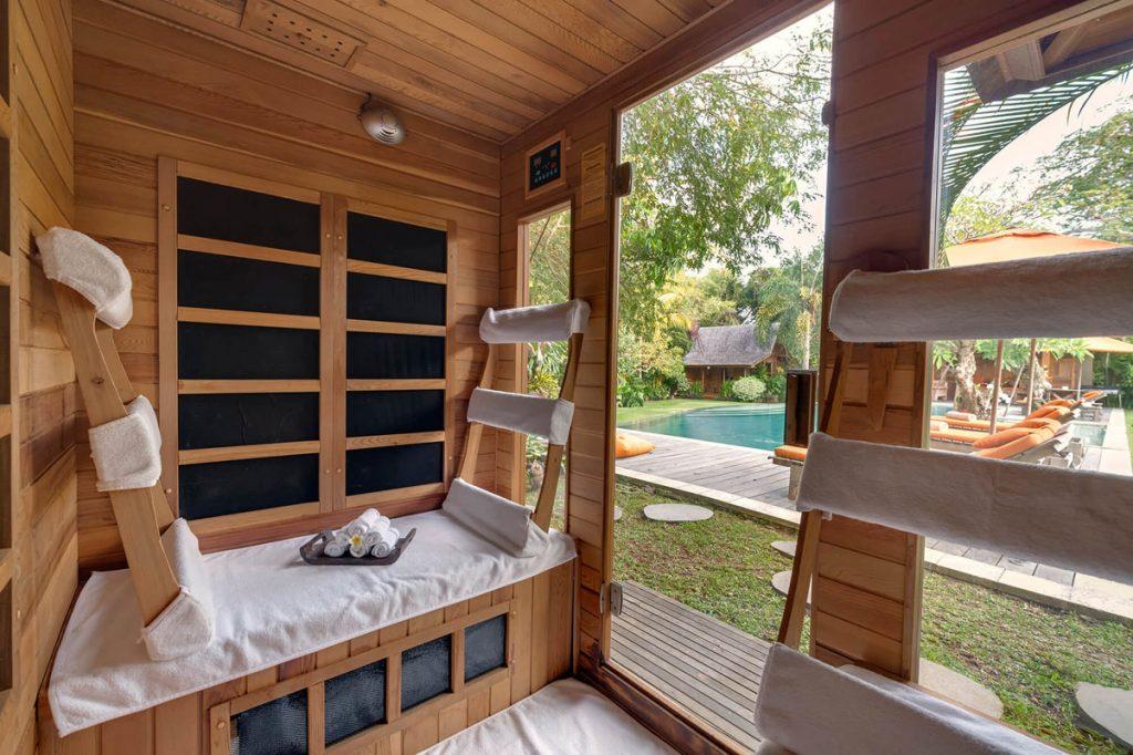 Villa Kavaya Relax in the sauna