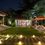 Villa Kavaya Villa at night