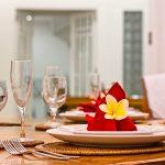Villa Puri Nirwana Dining details